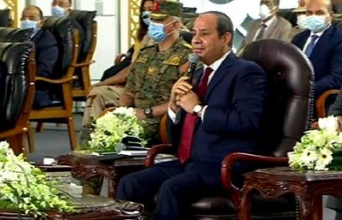 الرئيس السيسي يصل مقر افتتاح مشروعات تعليمية جديدة بالإسكندرية