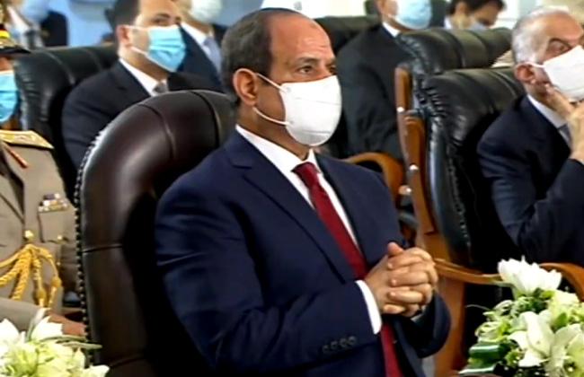 الرئيس السيسي: أرجو الالتزام بالإجراءات الاحترازية لمواجهة فيروس كورونا