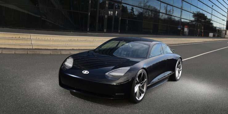 صور | هيونداي تكشف النقاب عن Ioniq 6 الكهربائية بتصميم انسيابي