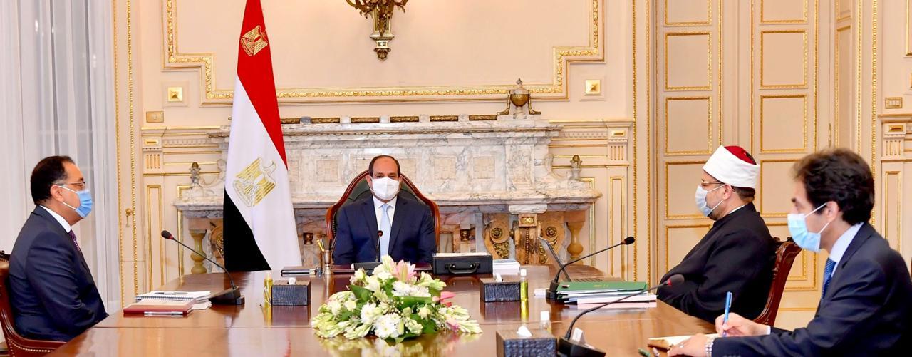 الرئيس السيسي يوجه بدراسة الأئمة للعلوم الإنسانية لصقل مهاراتهم فى التواصل