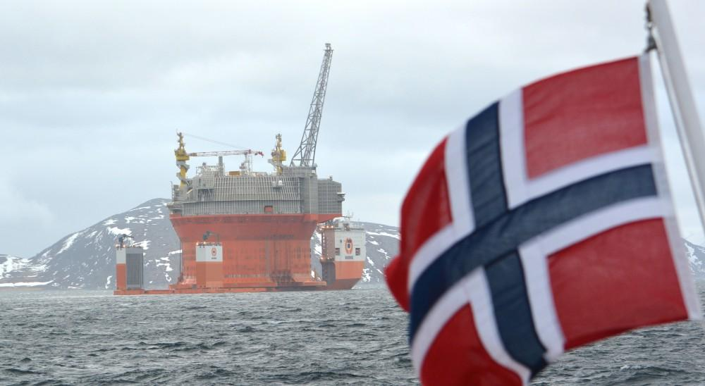 انتاج النفط الخام في النرويج في يوليو يرتفع إلى 1.74 مليون برميل يوميا