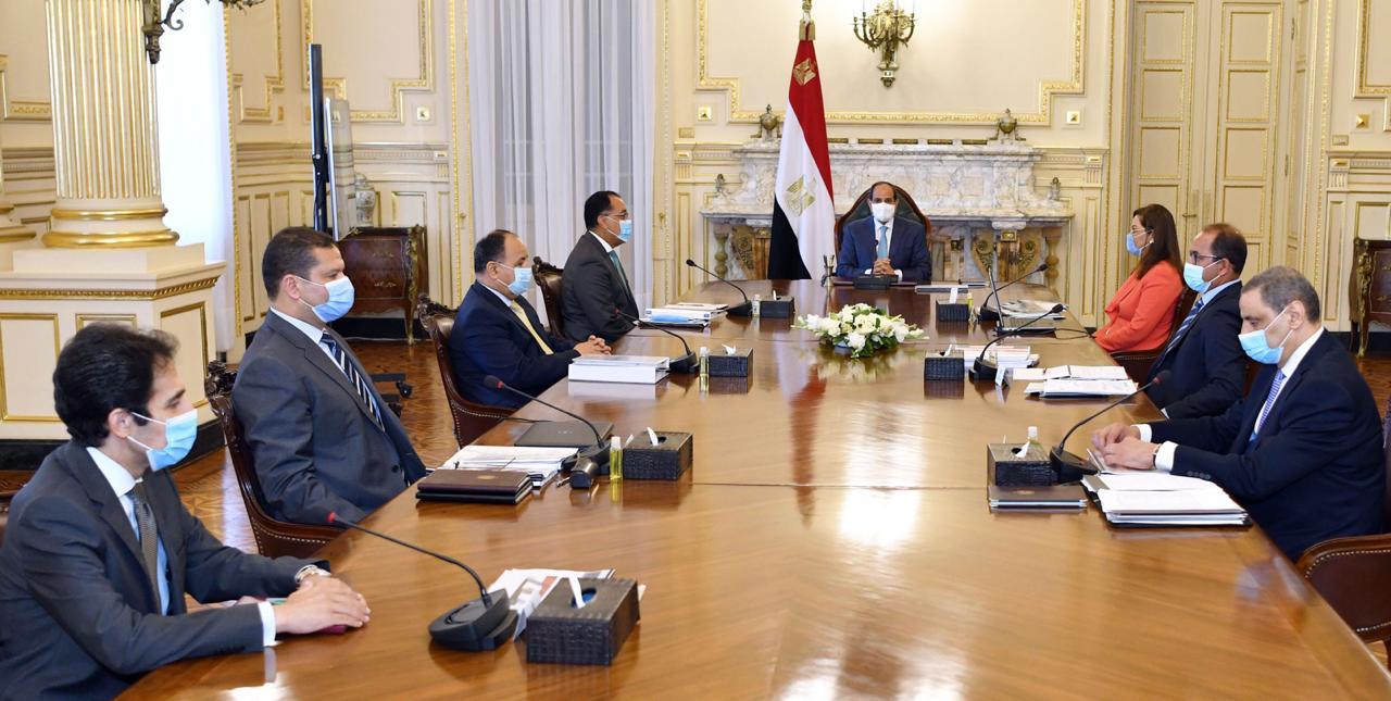 الرئيس السيسي يوجه بسرعة إنجاز كافة محاور تطوير وتحديث المنظومة الضريبية