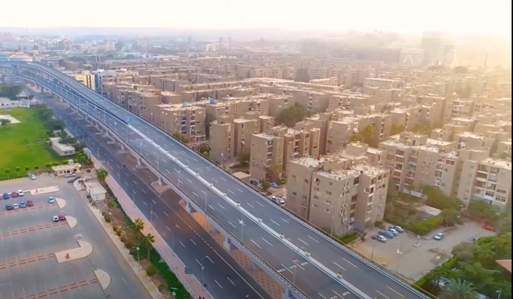 فيديو | كبارى ومحاور شرق القاهرة شريان جديد للتنمية والتعمير