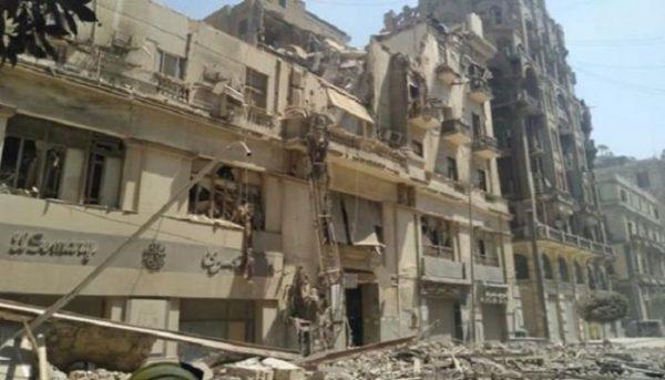 فيديو| محافظ القاهرة: لجنة لحصر الخسائر والمتضررين من انهيار عقار قصر النيل