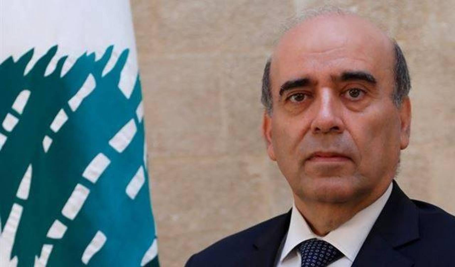 وزير الخارجية اللبناني: جهد الحكومة منصب على حماية المواطنين فى مواجهة الأزمات