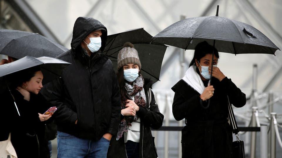إجمالى عدد إصابات فيروس كورونا فى فرنسا يقفز إلى 3489129 والوفيات لـ 82812