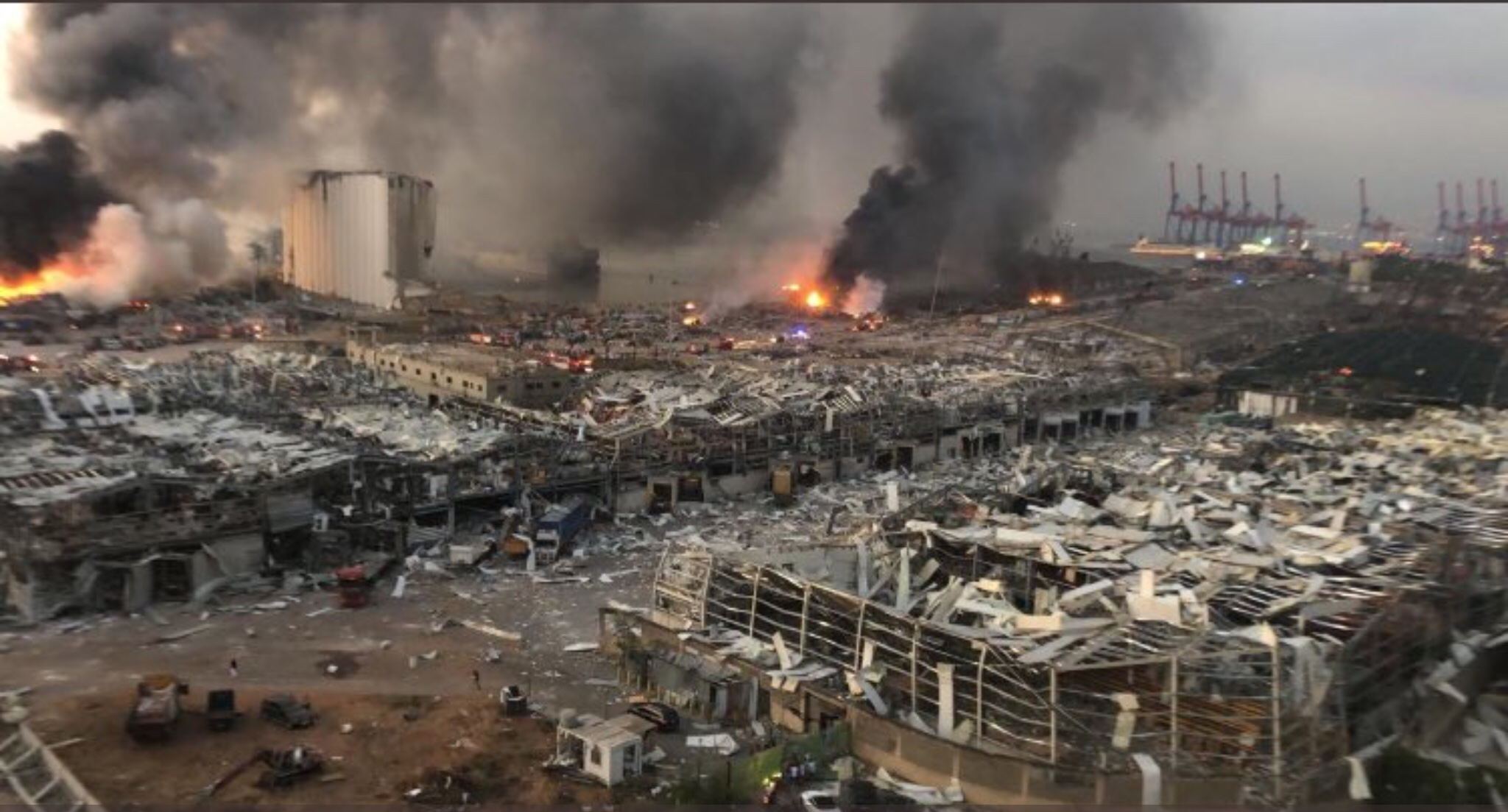 سويسرا ترسل فريقا من الخبراء للبنان للمساعدة فى تجاوز كارثة انفجار مرفأ بيروت