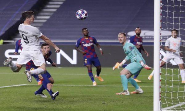 بايرن ميونخ يتأهل لنصف نهائي دوري أبطال أوروبا بعد فوزه على برشلونة
