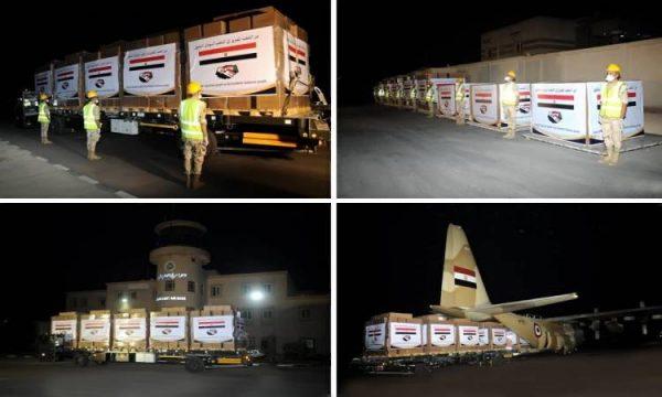 فيديو| وصول المساعدات المصرية إلى السودان