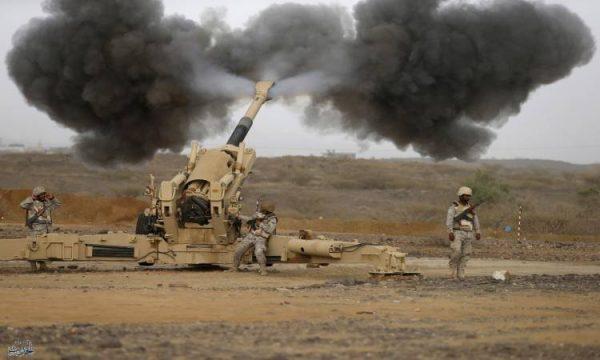 تدمير طائرة بدون طيار مفخخة أطلقتها ميليشيا الحوثي باتجاه السعودية