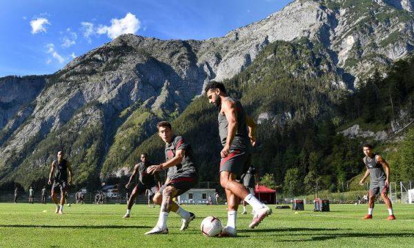 محمد صلاح يشعل تدريبات ليفربول استعدادا لأول وديات الريدز