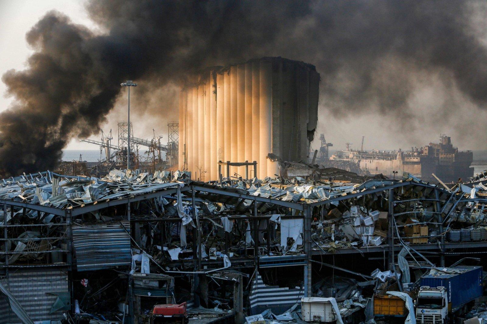 النائب العام اللبنانى: إحالة قضية انفجار ميناء بيروت للقاضى العدلى و25 مشتبها به