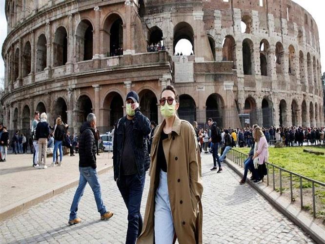 إيطاليا تسجل 7826 إصابة جديدة و 45 وفاة بفيروس كورونا