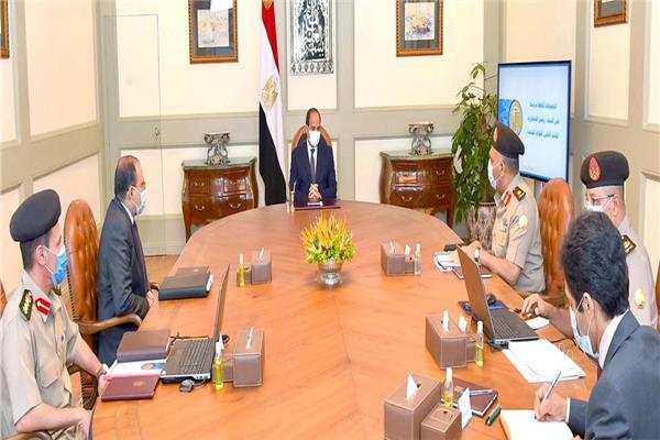 الرئيس السيسي يوجه بإطلاق  اسم «شينزو آبي» على محور مروري جديد بشرق القاهرة