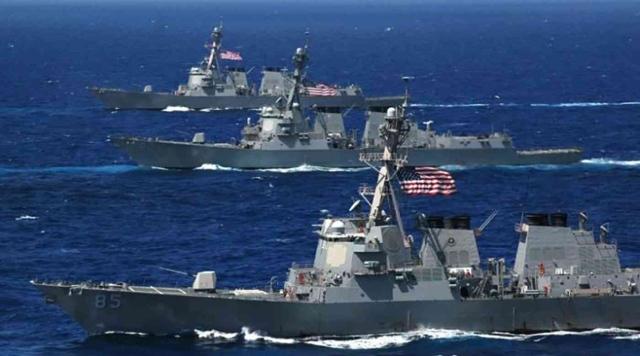 اختفاء أحد عناصر البحرية الأمريكية في بحر العرب