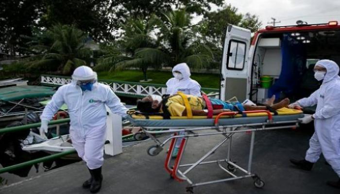 البرازيل: تسجيل 63520 إصابة و1283 وفاة جديدة بفيروس كورونا