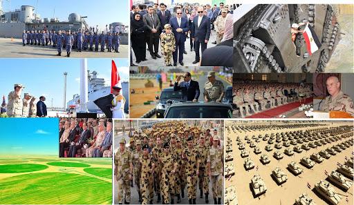 القوات المسلحة.. درع الأمان لمصر والعرب