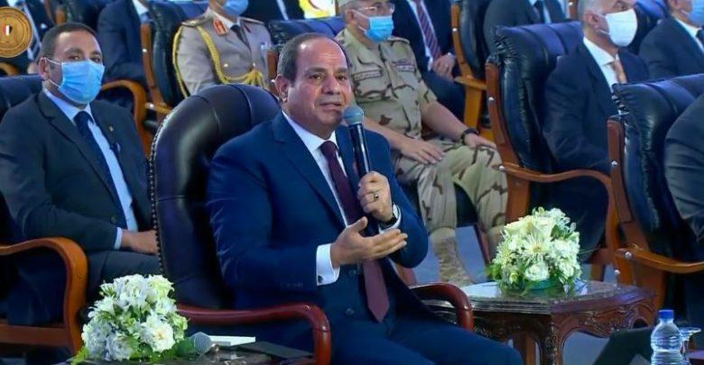الرئيس السيسي : التوصيف الخاطئ مشكلات الدولة يؤدى إلى علاج خاطئ