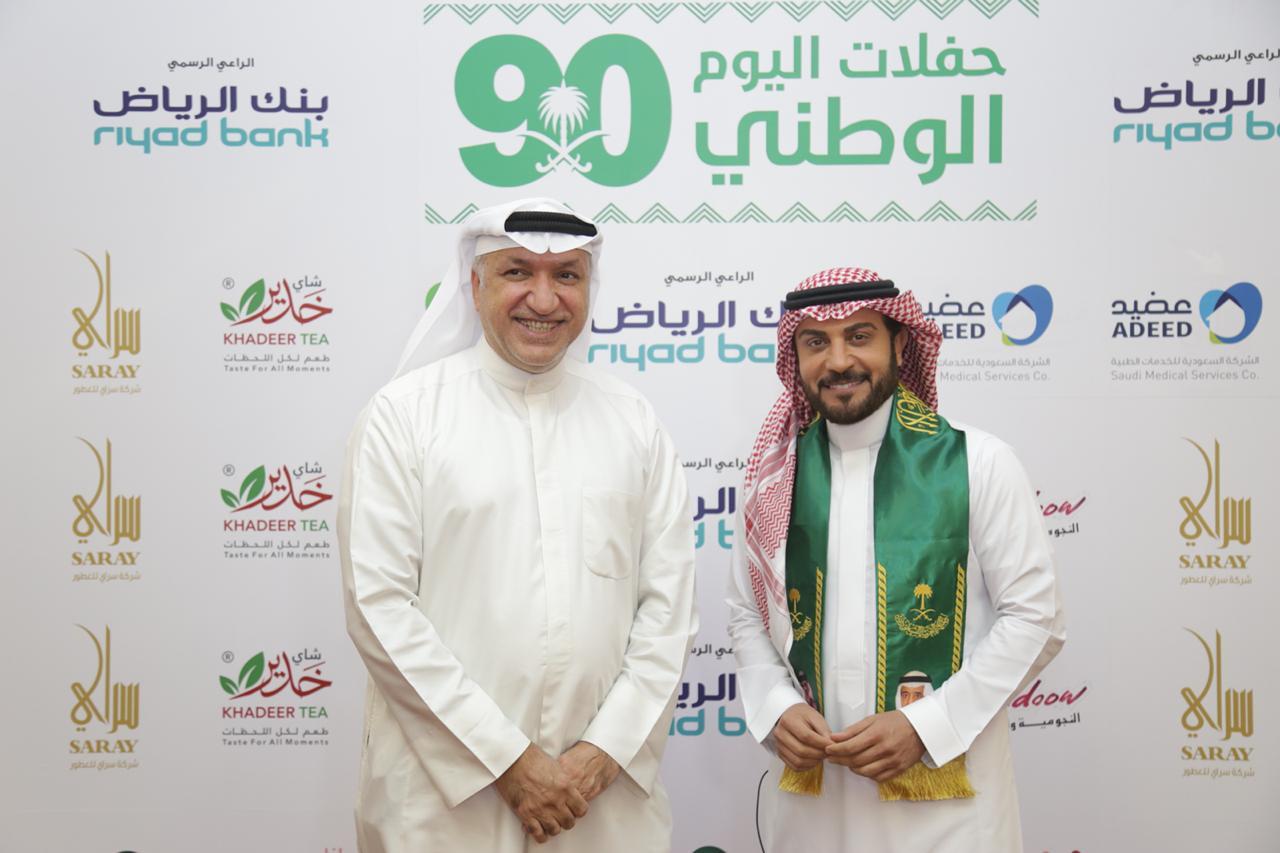 صور| وصول البرنس ماجد المهندس الى مركز الملك فهد الثقافي بالعاصمة السعودية الرياض