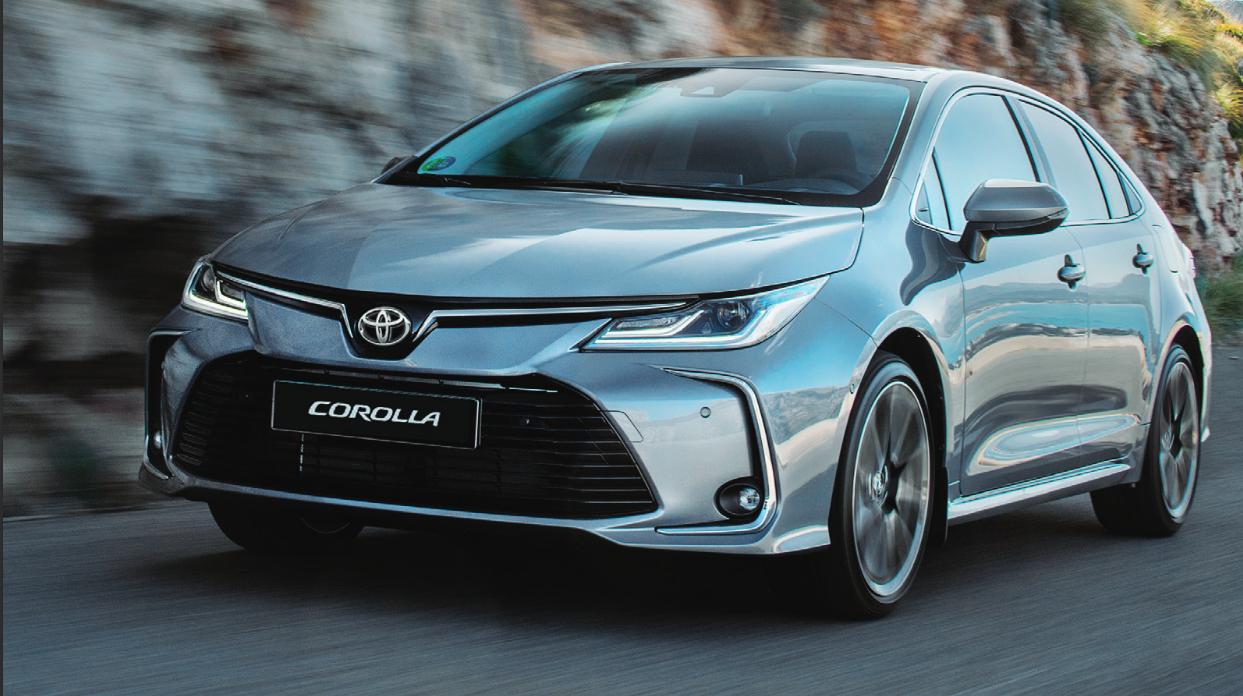 كورولا تحافظ على مركزها الأول ضمن أكثر ٥ سيارات مبيعا