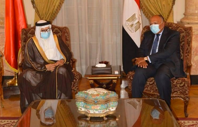 مباحثات مصرية بحرينية على مستوى وزراء الخارجية