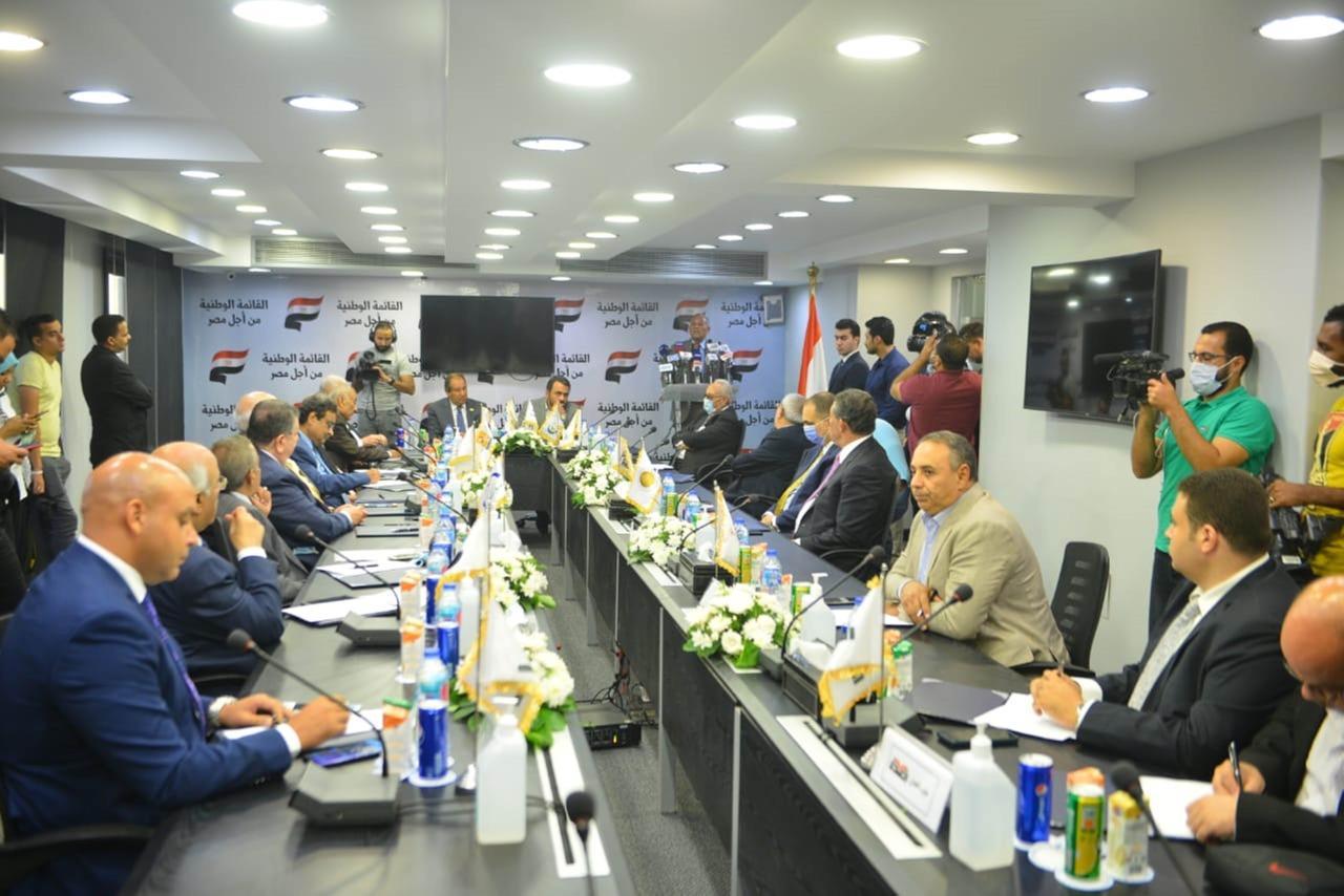 """القائمة الوطنية """"من أجل مصر"""" تتقدم بأوراق المرشحين في انتخابات النواب.. الجمعة"""