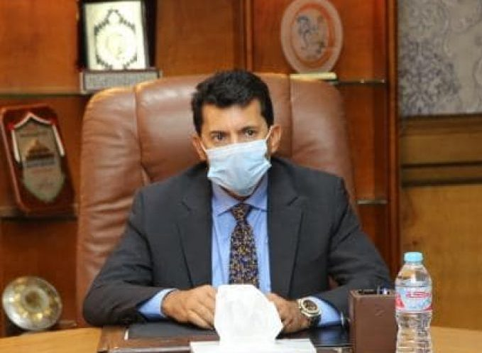 وزير الرياضة يطمئن على بعثة الإسماعيلي في المغرب