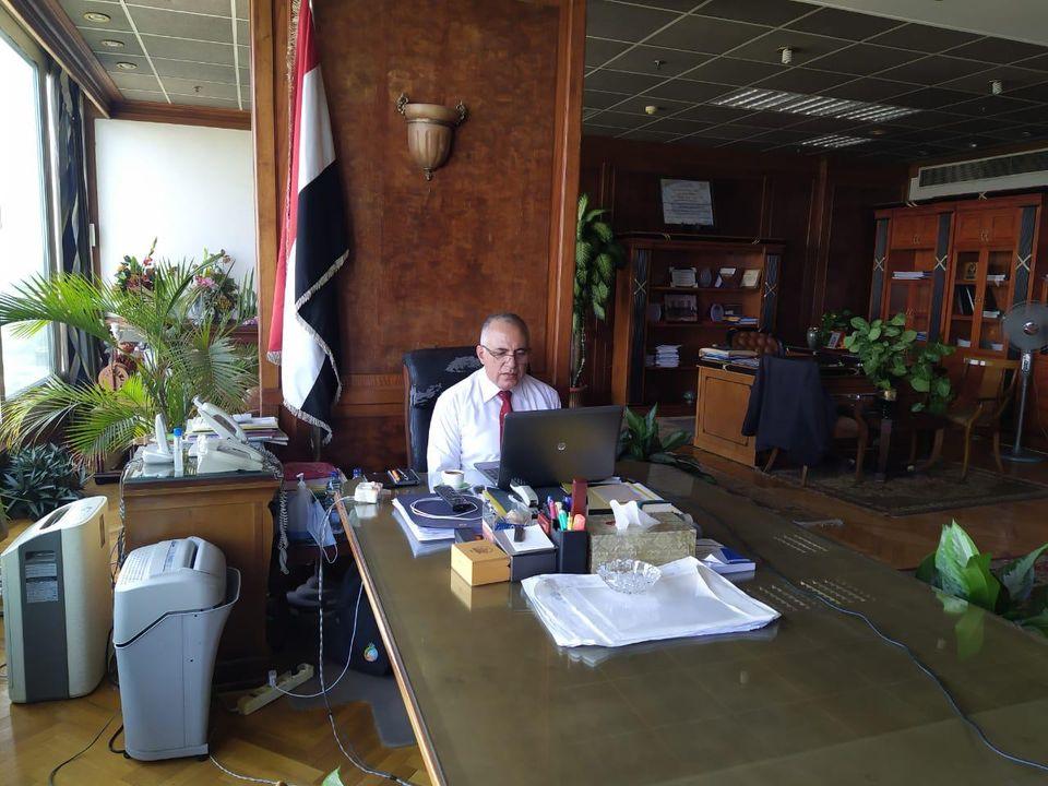 وزير الري: اللجنة العليا لمتابعة إيراد النهر في حالة إنعقاد مستمر