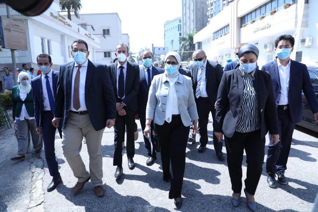 صور   وزيرة الصحة تعلن بدء إجراء التجارب الإكلينيكية على لقاحين لفيروس كورونا