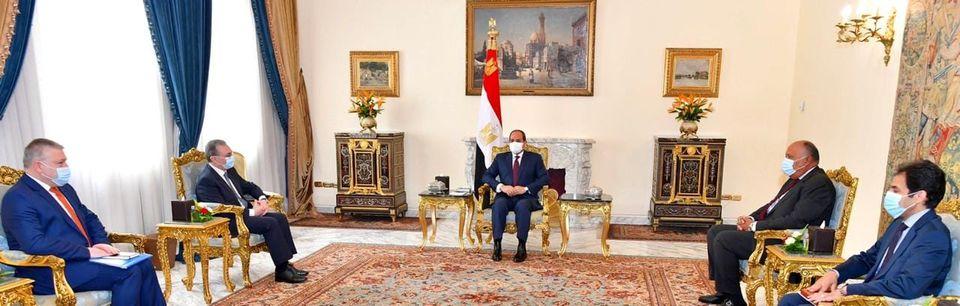 الرئيس السيسي يستقبل وزير خارجية أرمينيا ويؤكد خصوصية العلاقات التاريخية بين البلدين