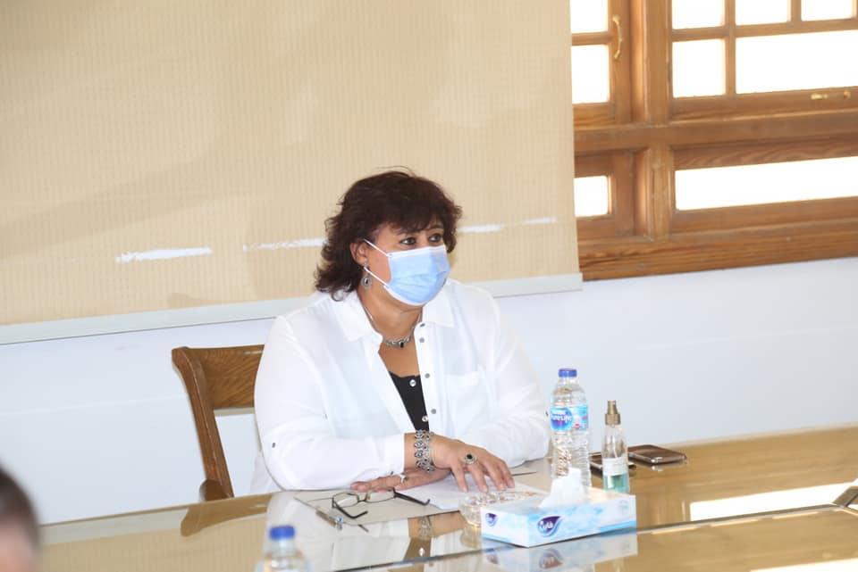 وزيرة الثقافة تطلق ندوات ضمن خطوات توطيد الأواصر بين مصر ومختلف الدول