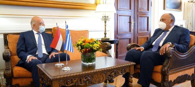 صور | تفاصيل مباحثات وزير الخارجية ونظيرة اليوناني في أثينا