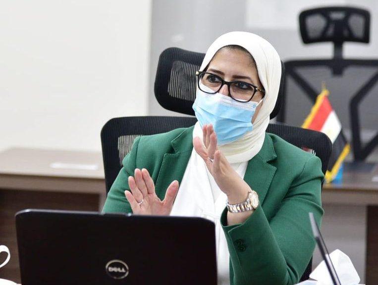 """وزيرة الصحة: جارٍ دخول المحافظات فى المبادرة الرئاسية لمتابعة حالات العزل المنزلى لمصابى """"كورونا"""""""