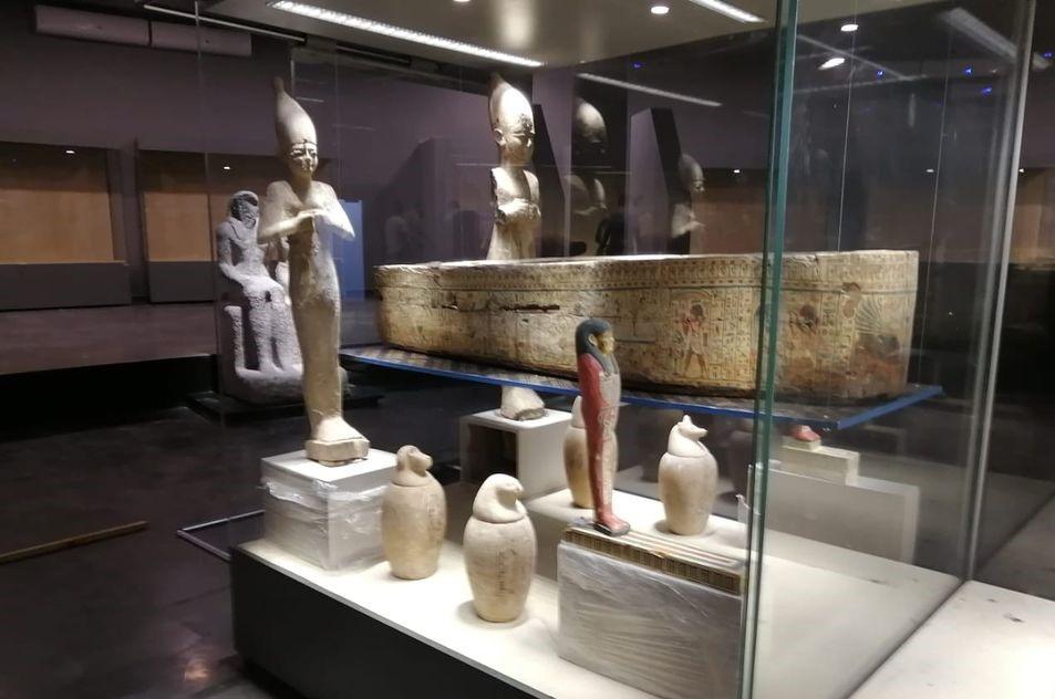 صور | «الآثار» وضع اللمسات النهائية لمتحف كفر الشيخ تمهيدا لافتتاحه الوشيك