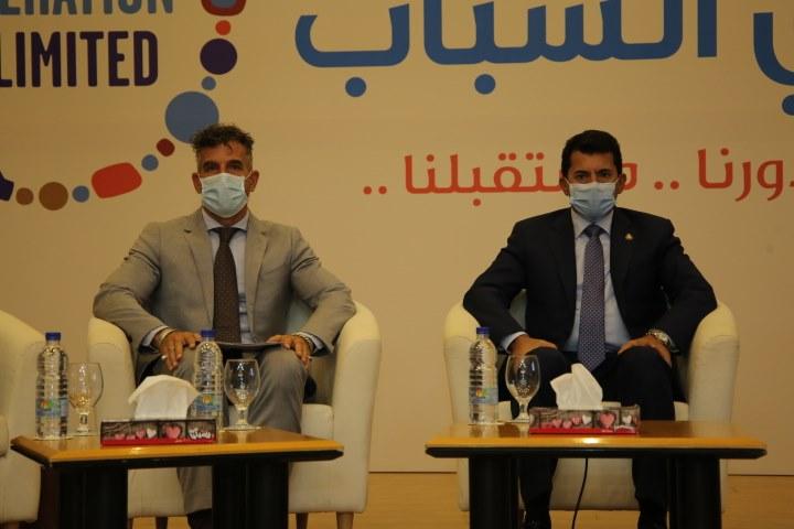 صور | وزير الرياضة يُكرم الفائزين بمبادرة «تحدي الشباب 2020»