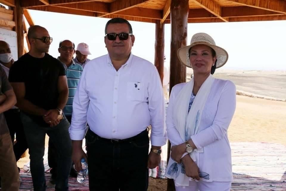 وزيرا البيئة والإعلام يتفقدان مركز الطيور المهاجرة إستعداداً لحملة «ECO Egypt» بشرم الشيخ