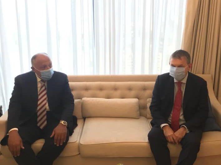 وزير الخارجية يلتقي المفوض العام لوكالة الأمم المتحدة لغوث وتشغيل اللاجئين الفلسطينيين
