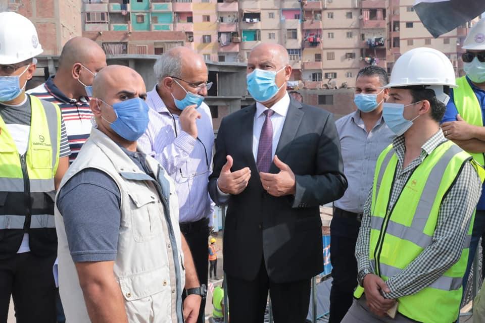 صور   وزير النقل يتابع معدلات تنفيذ أعمال التطوير للطريق الدائري حول القاهرة الكبرى