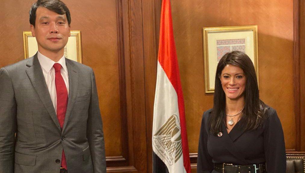 صور  رانيا المشاط تبحث مع سفير كوريا الجنوبية الجديد بالقاهرة مجالات التعاون المستقبلية