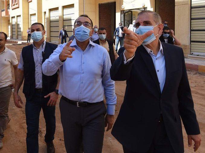 رئيس الوزراء يتفقد مشروع إنشاء طريق مزدوج يربط مدينتي كفر الشيخ ودسوق