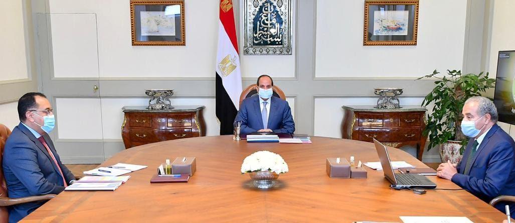 الرئيس السيسي يوجه بتطوير منظومة المخابز على مستوى الجمهورية