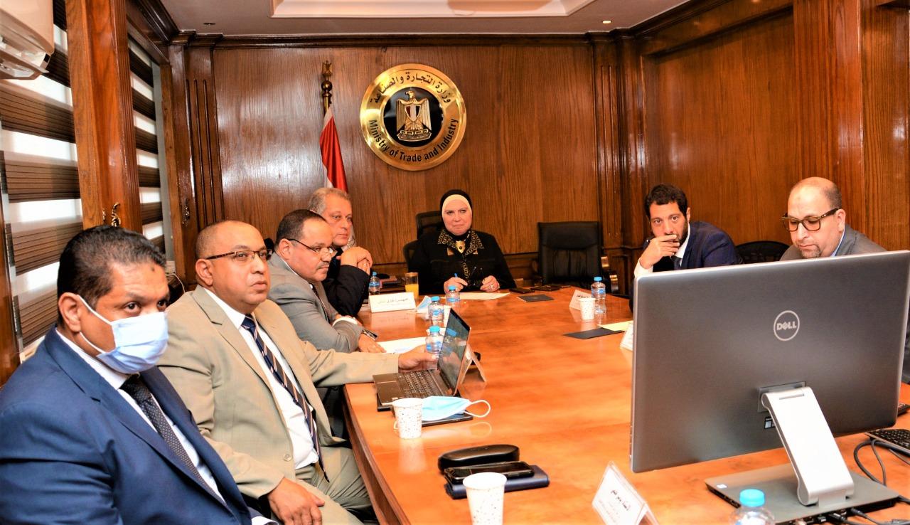 وزيرة التجارة تبحث مع ممثلى أمازون العالمية خطط التوسع فى مصر