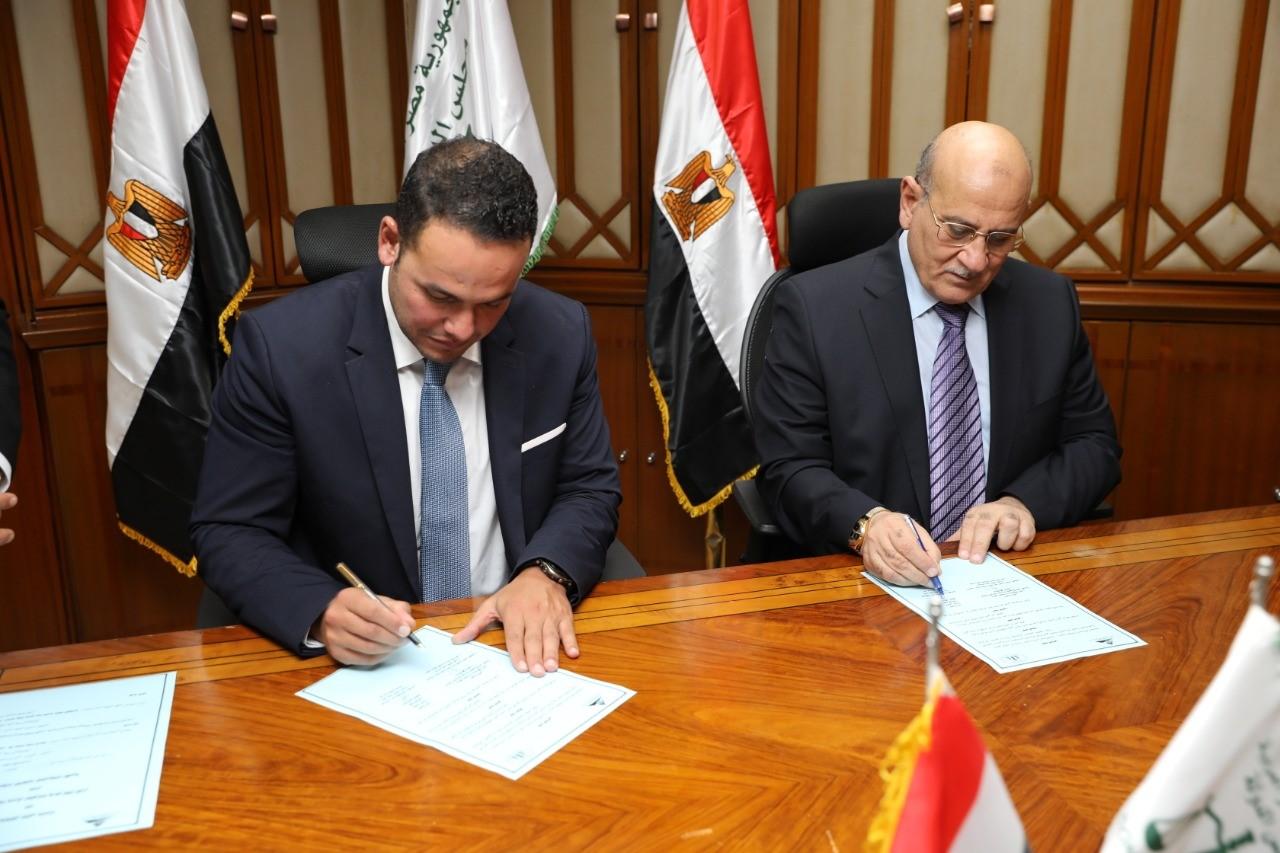مجلس الدولة ومركز معلومات الوزراء يوقعان بروتوكولاً للتعاون المشترك