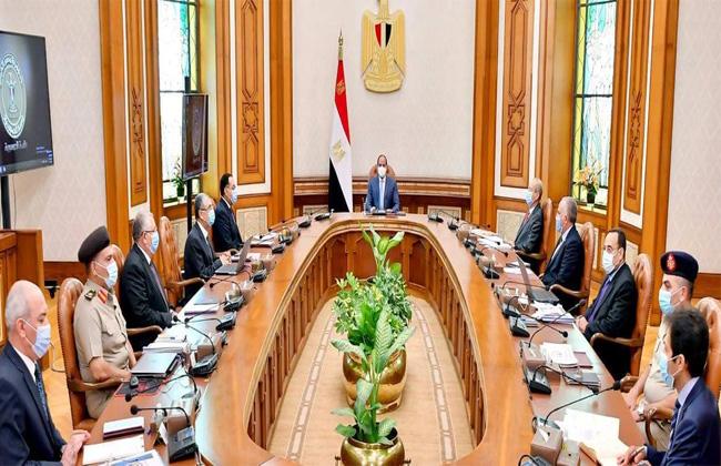 الرئيس السيسي يوجه بالعمل المتكامل بين القطاعات لزيادة الرقعة الزراعية المنتجة