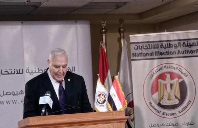 رئيس الوطنية للانتخابات يعلن نتائج الجولة الثانية من انتخابات الشيوخ