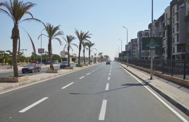 صور | وزير الإسكان : الانتهاء من المرحلة الأولى من مشروع رفع كفاءة محور الشباب بمدينة الشروق