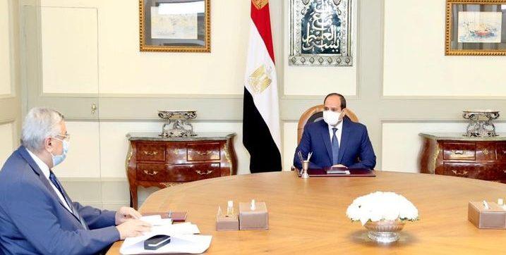 الرئيس السيسي يوجه باستخلاص الدروس المستفادة من تجربة مصر لمكافحة كورونا