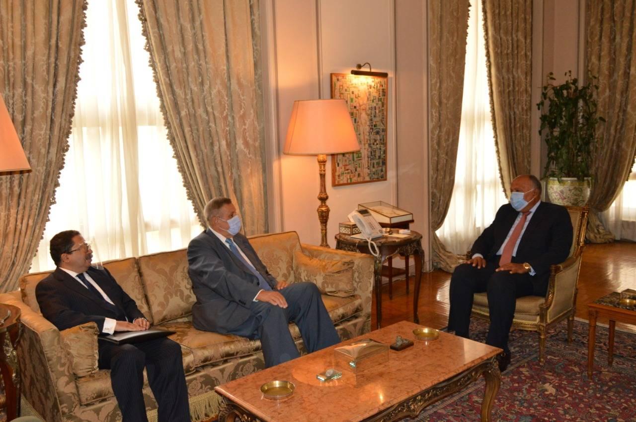 صور | وزير الخارجية يبحث مع المنسق الأممي بلبنان سبل الدعم الممكنة لتجاوز أزمته الحالية