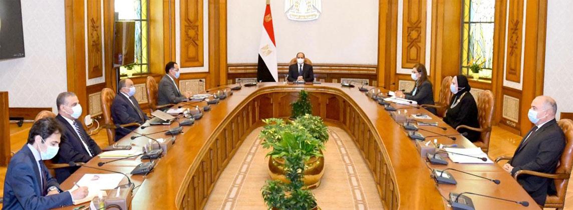 الرئيس السيسي يوجه بالتقييم المنتظم لأداء ونتائج جهود تنمية صعيد مصر