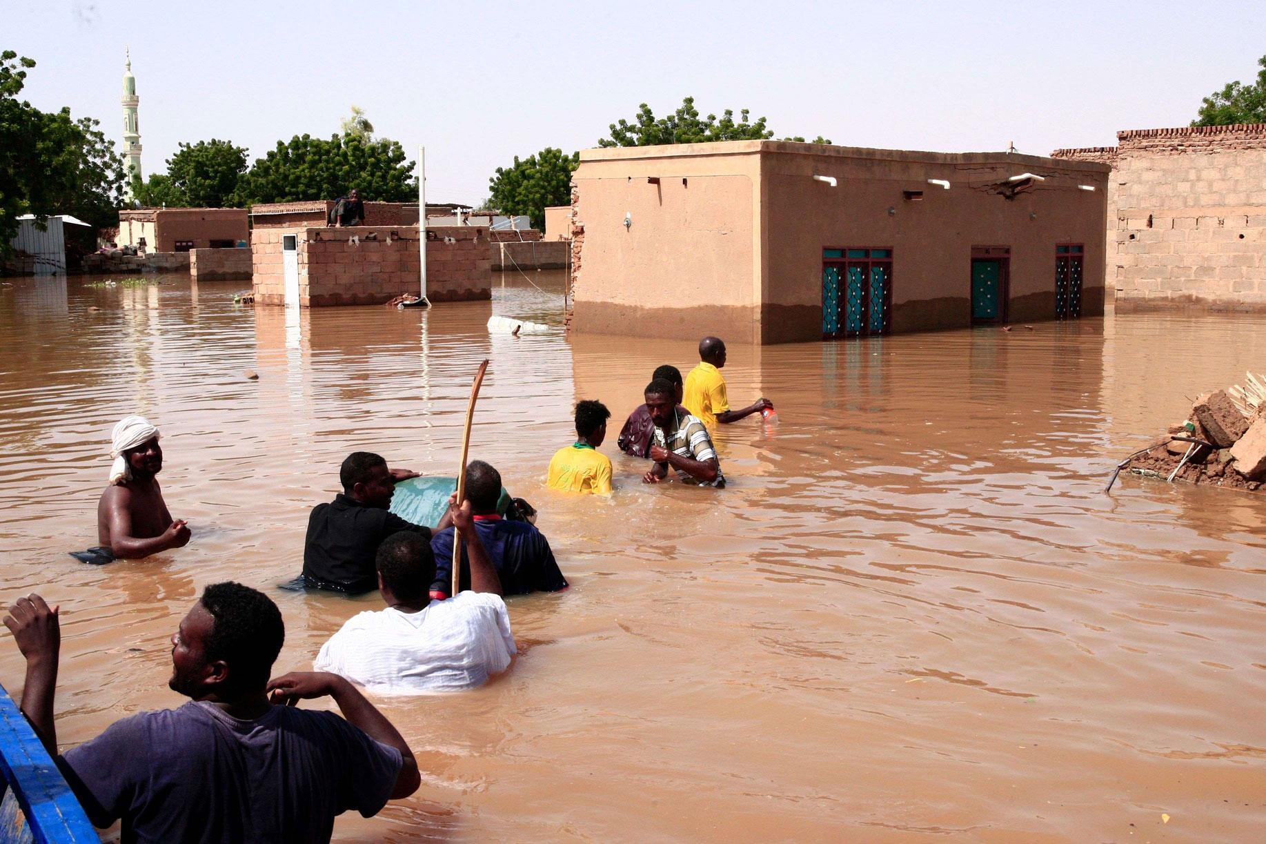 الأمم المتحدة: أكثر من 730 ألف شخص فى السودان تأثروا بالفيضانات